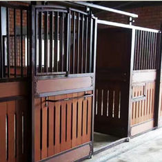 Durable Horse Stall Panels 100% Natural Bamboo Material Customized Color