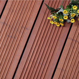 China Formaldehyde Free Decorative Wood Panels , Natural Bamboo Wood Sheets supplier