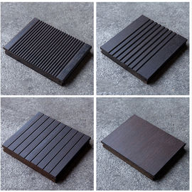 China 18mm Thickness Bamboo Wood Panels Charcoal Surface Treatment For Outdoor Decking supplier