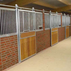 Bamboo Material Horse Stall Panels With Low Formaldehyde Emission Quality