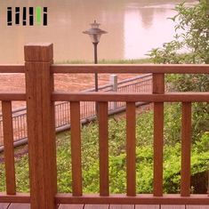 China Weather Resistant Bamboo Handrail High Durability For Outdoor Garden supplier