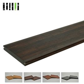 China Wide Plank Strand Woven Bamboo Flooring Easy Installation For Outdoor supplier
