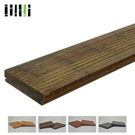 China Engineered Boat Natural Bamboo Panels , Light Bamboo Flooring 18mm Thickness supplier
