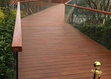 Eco Poly Bamboo Deck Tiles 1220 Kg/M³ Density With Low Expansion Rate