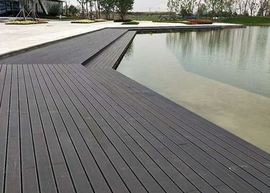 China Eco Waterproof Bamboo Floor Tile , Hardwood Deck Tiles 18mm Thickness supplier