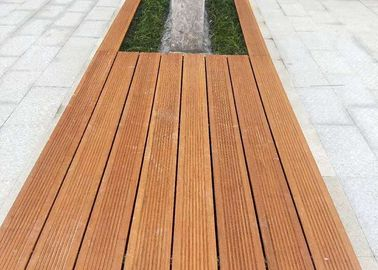 China Durable Green Material Bamboo Park Bench Modern Appearance Customized Size supplier