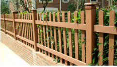 China Rodent Proof Decorative Bamboo Handrail 5 Years Warranty With No Pollution supplier