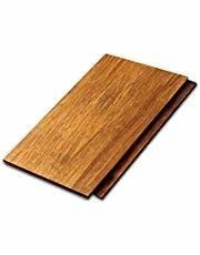 Eco Solid Bamboo Wood Panels 18mm Thickness With Fine Water Resistance