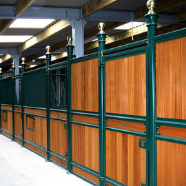 China 100% Natural Bamboo Horse Corral Panels , Modular Horse Stalls 1220 Kg/M³ Density distributor