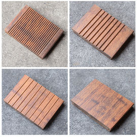 China 100% Natural Bamboo Hardwood Flooring E0 Formaldehyde Release Eyesight Protection factory