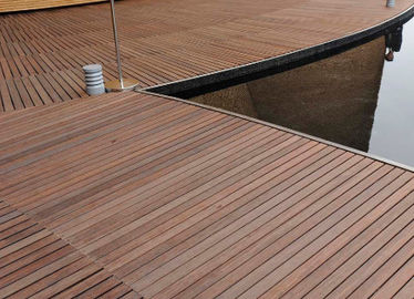China Durable Hardwood Bamboo Deck Tiles Corrosion Resistance For Outdoor Gazebo distributor