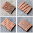 18 Mm Thickness Bamboo Timber Flooring Long Service Life For Outdoor Park Deck